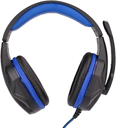 hongfei Bolange Gaming Headset, Virtual USB Surround Cuffie da gioco cablate stereo Over Ear Gaming Auricolare con microfono Controllo del volume Noise Cancelling LED Light per PC - Trova i prezzi più bassi