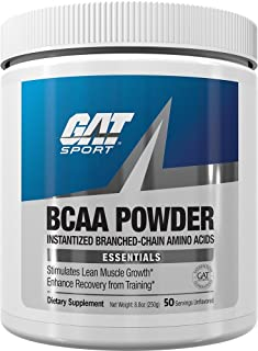 GAT Sport BCAA Powder Nutritional Supplement, 250 Gram
