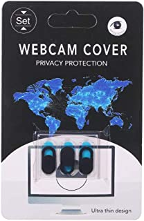 Webcam Cover Laptop Camera Cover (Pack of 3) Webcam Cover Slider Stickers for Computer, MacBook Pro/Air, iPhone, Tablets, ...