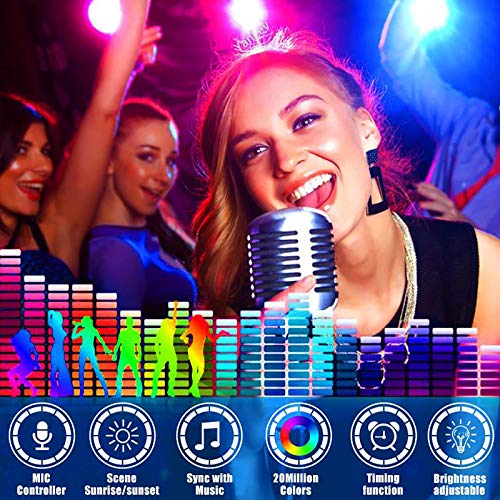 LED Strip Lights, Tenmiro 32.8ft Led Music Sync Color Changing Light with 40keys Music Remote Controller, Led Lights for Room, Bedroom, TV, Party 5