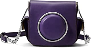 MICHAEL Michael Kors Scout Crossbody Leather Camera Bag - Iris