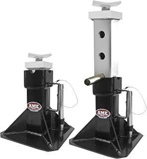 AME 14405 Heavy Duty Jack Stand (with Adjustable Top 22 Ton (Pair))