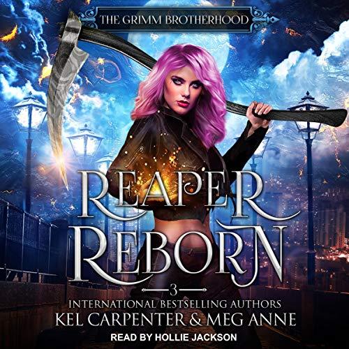 Reaper Reborn Audiobook By Kel Carpenter,                                                                                        Meg Anne cover art