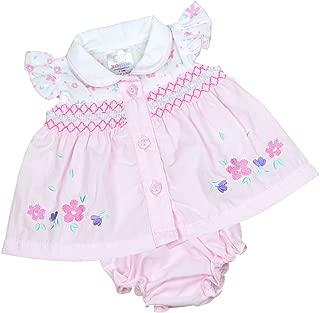 BabyPrem Preemie Baby Dress & Knickers Set Flowery Girls Clothes 3.5-5.5lb Pink P2