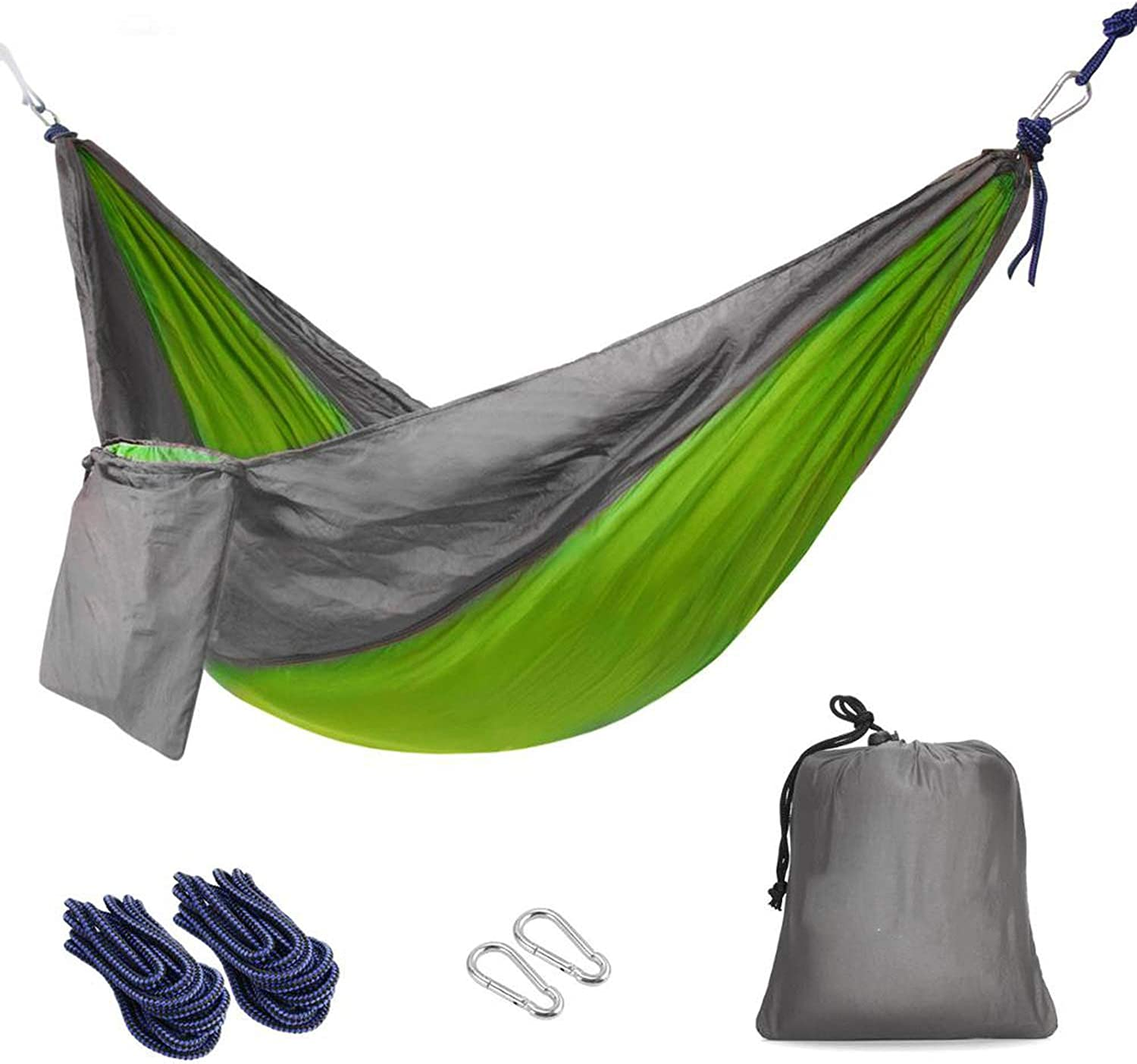 12 Person hammocks Outdoor Camping Hiking Sleeping Bed Picnic Swing Single Tent Red, Green 230  90CM
