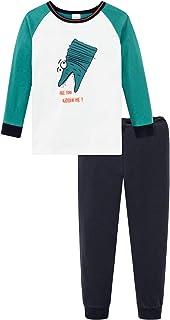 Kn Schlafanzug Lang Juego de Pijama para Niños