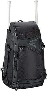 EASTON E610CBP Catchers Bat & Equipment Backpack Bag, Black, 2021, Baseball Softball, Vented All Gear Compartment, 2 Bat S...