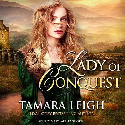 Lady of Conquest audiobook cover art