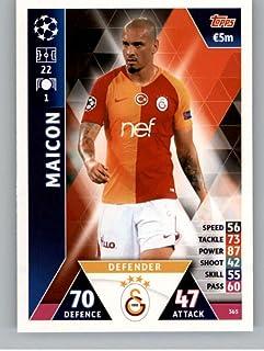 2018-19 Topps UEFA Champions League Match Attax #365 Maicon Galatasaray S.K. Soccer Trading Card