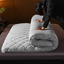 Tatami Foldable Mattress, Japanese Thick Futon Mattress Sleeping Pad Warm Floor Mat Camping Mattress for Student Residence...