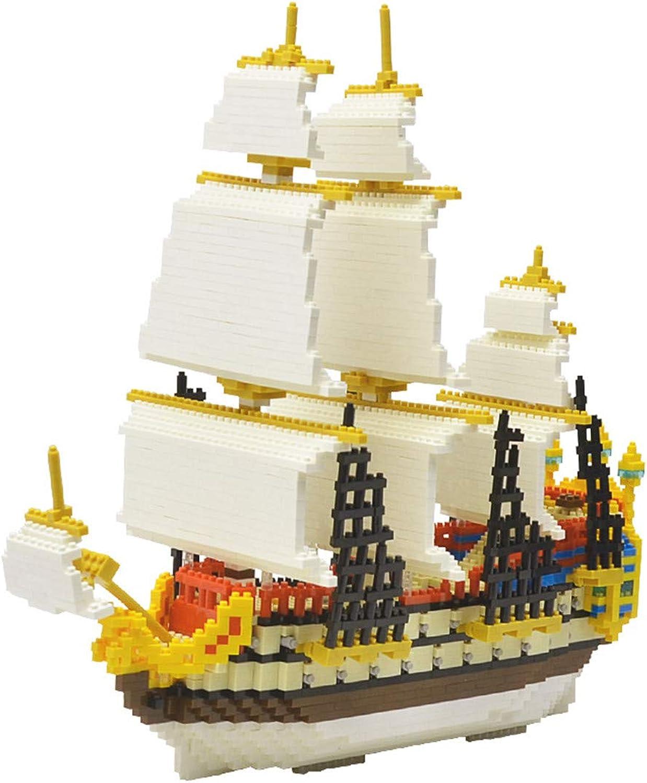 WEIGZ Kinderpuzzle montierte Bausteine segeln Teilchenbausteine Spielzeug