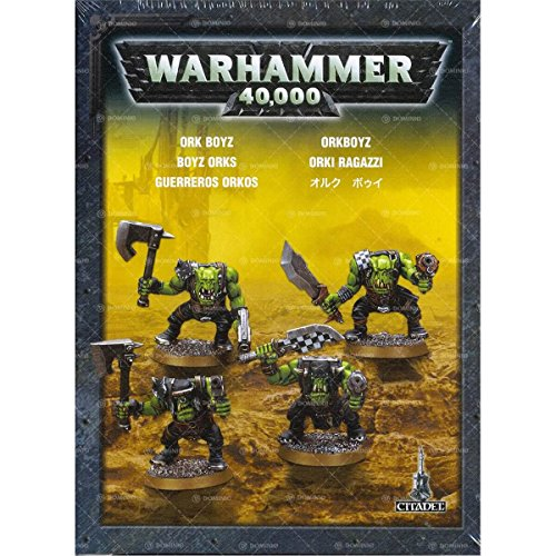 Games Workshop Figuras de accin de Guerreros orkos Warhammer 40,000, 99120103015