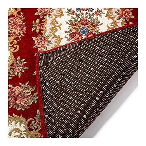 Område mattor, bön matta, turkiska mattor, böner dyrkare filt, böne rug 31,4 x 47,2(80 x 120 cm), Janamaz (Color : Red)