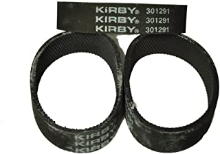 Best Kirby Ribbed Vacuum Cleaner Belt, Fits: all Kirby upright vacuum cleaners 1960 to present, Kirby Number on belt 301291, 6 belts in pack Reviews
