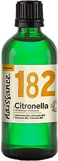 Naissance Citronela BIO - Aceite Esencial 100% Puro - Certificado Ecológico - 100ml
