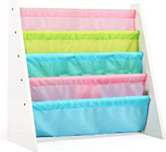 Class kid's book organizer with pastel fabric (Multi Color)