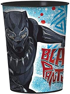 black panther plastic cups