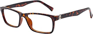OCCI CHIARI Reading Glasses Stylish Rectangular Reader for Men Spring Hinge