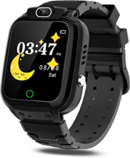 CMKJ Kids Smartwatch with 7 Games, Waterproof Watch for Children with MP3 & MP4 Player, Touchscreen Gaming Watch Gift for 2-13 Years Old Girls and Boys, with 2GB Memory Card & Screen Protector