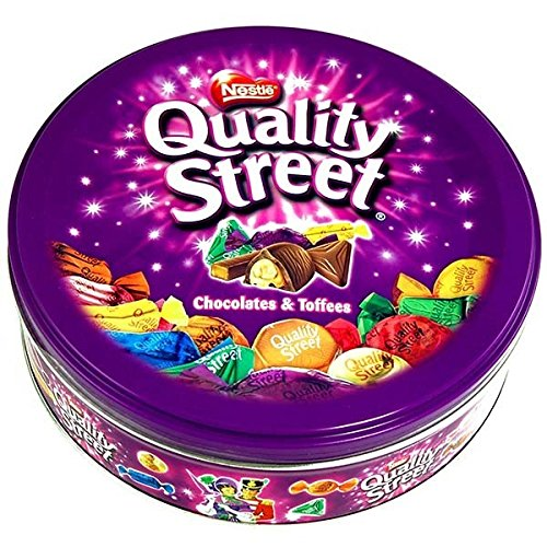 Nestle - Quality Street Round Tin - 480g (Pack of 3)