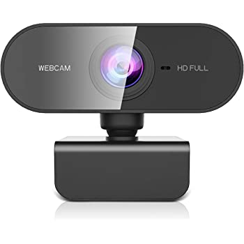 PC//Mac//Laptop//Macbook//Tablet For YouTube Noise-Reducing Mic 1080P//30fps,80-degree Widescreen Video Calling,Autofocus Skype,FaceTime WebEx Light Correction PH4SBD HD Webcam