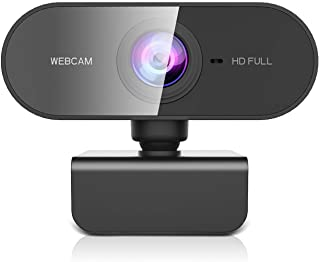 ZZCP Webcam PC con Microfono, HD 1080P Webcam para Portatil/