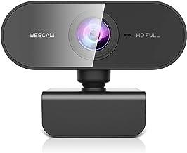 ZZCP Webcam PC con Microfono, HD 1080P Webcam para Portatil/