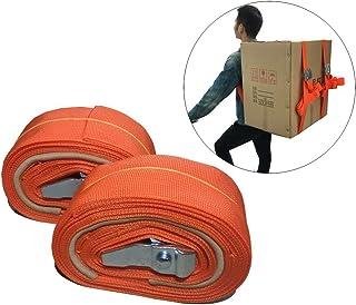 1人用の吊上げおよび移動ストラップ、1発動機用ストラップとハーネス、家具、家電製品、重いものを簡単に移動、持ち上げ、持ち運び、固定
