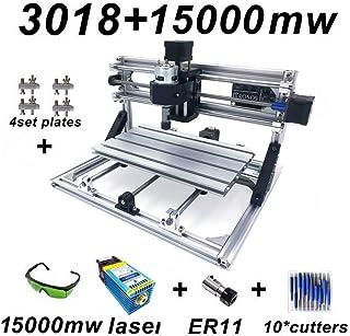 Changli CNC Fresadora CNC 3018 Pro Control de GRBL DIY Mini CNC 3 Ejes Mini máquina