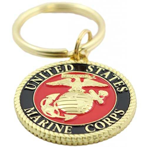 US MARINE CORPS KEY CHAIN USMC KEY CHAIN USMC KEY RING
