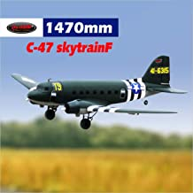 DYNAM RC Airplane C47 Skytrain Green 1470mm Wingspan - PNP