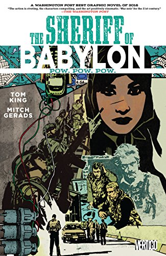 Sheriff of Babylon (2015-2016) Vol. 2: Pow. Pow. Pow. (English Edition)