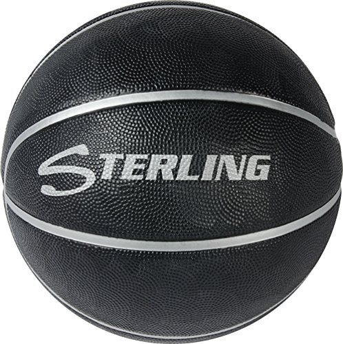 Best Price Sterling Premium Superior Grip Black Official Size 7 Rubber Basketball