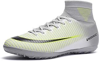 CR Soccer Boots Indoor - TF Turf Cleats Boys - High Tops...