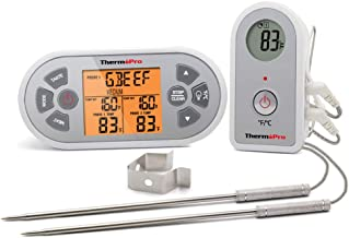ThermoPro TP22S Digital Wireless Meat Thermometer for Grilling with Dual Probe Food Cooking Thermometer for Smoker BBQ Grill Thermometer