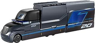 Disney Pixar Cars Camion Lanceur Gale Beaufort, transporteur de Jackson Storm pour lancer jusqu'à 5 voitures, jouet pour e...