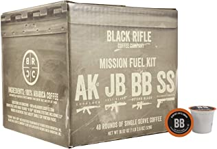 Black Rifle Coffee Rounds (Supply Drop (Variety Pack), 48 Count)