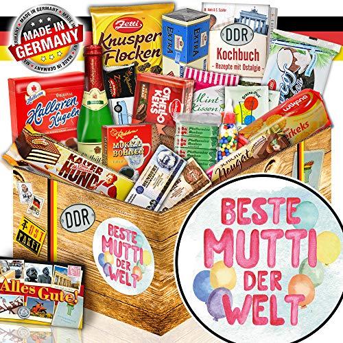 Beste Mutti der Welt - Ossi Paket - Geschenke für Geburtstag