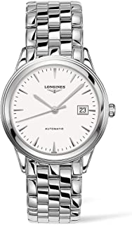 Longines Flagship Automatic White Dial Men's Watch L4.974.4.12.6