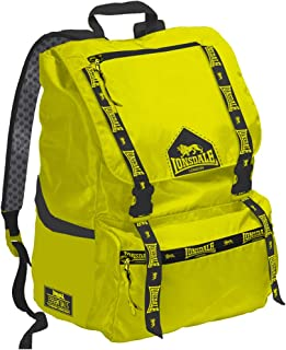Lonsdale Unisex-child Jolly Backpack Casual Daypack School Backpack, Color Yellow