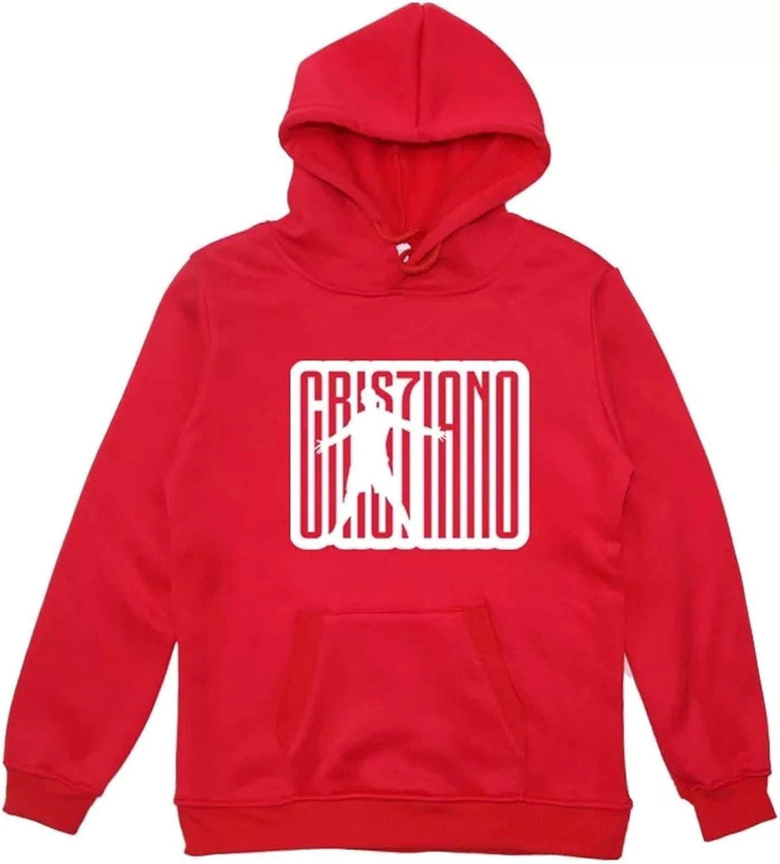 XMTIHE Boys Girls San Francisco Mall Cristiano Ronaldo Max 79% OFF Hoodies-Kids Pullover Fans L