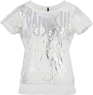 (ダンスキン) DANSKIN フィットネスウェア セットアップ半袖Tシャツ DN57117 [レディース] DN57117 K ブラック L