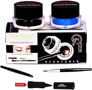 Kiss Beauty Gel Eyeliner Long Wear 24Hr 57142 with Adbeni Kajal