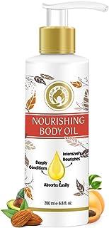 Mom & World Mother Nourishing Body Oil – Complete Moisturising, 100% Pure Oils - No Mineral Oil, 200 ml (MOMWLD04)