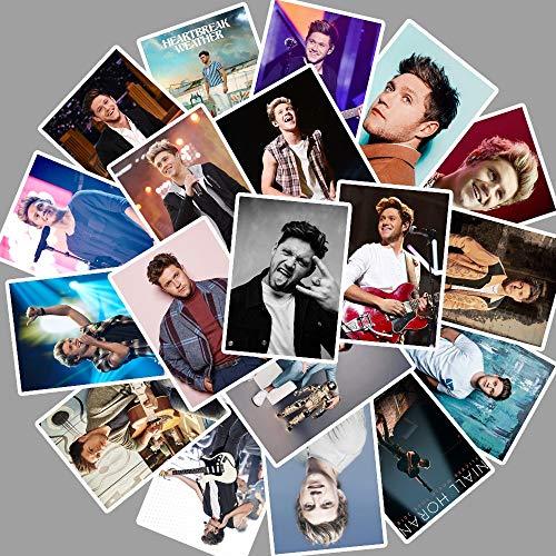CHENX One Direction Member Niall Horan Adesivi per Auto Laptop PVC Zaino Bottiglia d'Acqua Pad Bicicletta Decalcomania Impermeabile 25Pcs