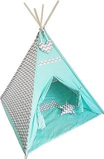 Skapa ditt eget Tipi-tält för barnrum, olika färger och mönster 100 x 125 cm, handgjort