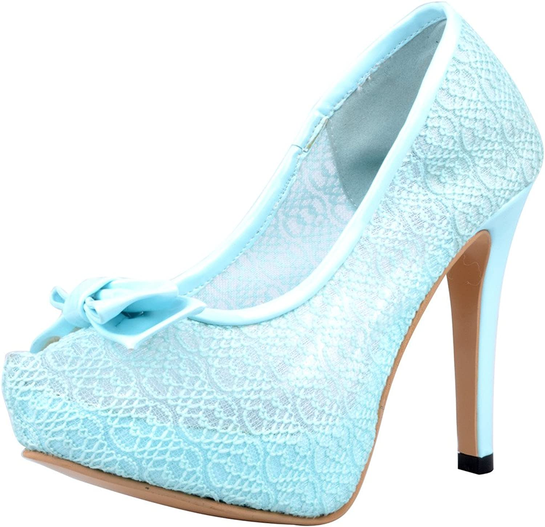 Calaier Womens Caride 2016 Luxury Classic Designer Round Toe 11.5CM Stiletto Slip on Pumps shoes