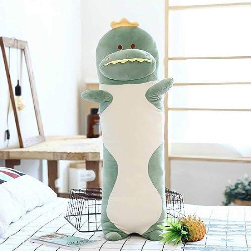 entrega rápida YUNYUE Software de algodón de de de Plumas para Dormir Almohada añostada muñeca de muñeca Larga de Peluche de Gaño Dinosaurio Largo  envio rapido a ti