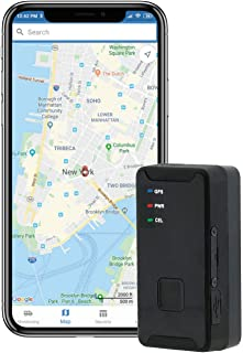 Family1st GPS Tracker for Vehicles, Kids, Teenagers, Cars, Seniors and Assets. 4G LTE GPS Tracker with SOS. Black Portable, Compact and Hidden with Real Time Updates (Portable)