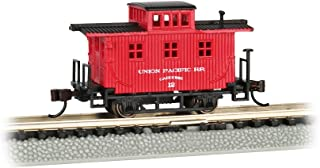 Bachmann  Old-Time Caboose - Union Pacific - N Scale, Prototypical Oxide Red